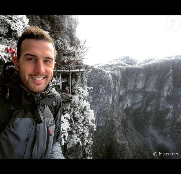 Graham Dickinson, athlète professionnel canadien de 28 ans, s'est tué en Chine en janvier 2017 lors d'un vol en wingsuit. Photo de son compte Instagram officiel.