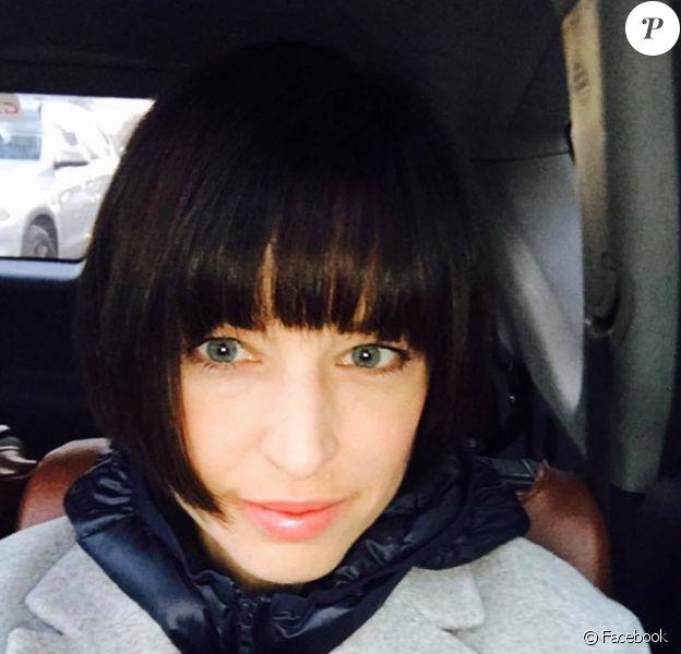 Natasha St-Pier dévoile sa nouvelle coupe de cheveux sur Facebook. Janvier 2017.