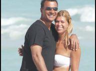 PHOTOS : On a retrouvé l'immense Ruud Gullit, avec sa femme et son fils... sous le soleil de Miami !