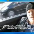 """Le chroniqueur Jean-Michel Maire en route pour """"Les Anges 9"""" de NRJ12, le 1 février 2017 dans """"Touche pas à mon poste"""" (C8)."""