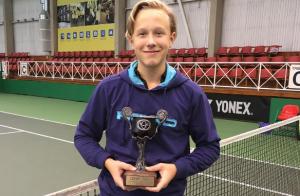 Björn Borg : Leo, son fils de 13 ans qui impressionne déjà