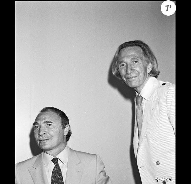 Ted Lapidus et son frère