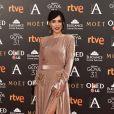 Cristina Brondo- Photocall lors de la 31ème cérémonie des Goya Awards à l'hôtel Marriott à Madrid, le 4 février 2017.