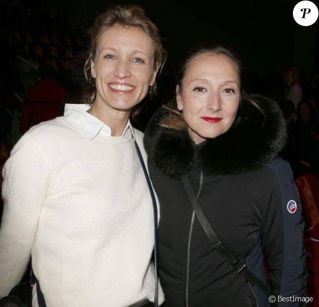 Alexandra Lamy et sa soeur Audrey lors du 20e Festival du film de comédie à l'Alpe d'Huez, France, le 20 janvier 2017. © Christophe Aubert via Bestimage