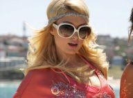 PHOTOS : Paris Hilton déclare sans rire lutter contre la crise... à sa façon !
