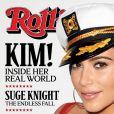 Kim Kardashian fait la couverture de Rolling Stone à New York le le 1er juillet 2015.