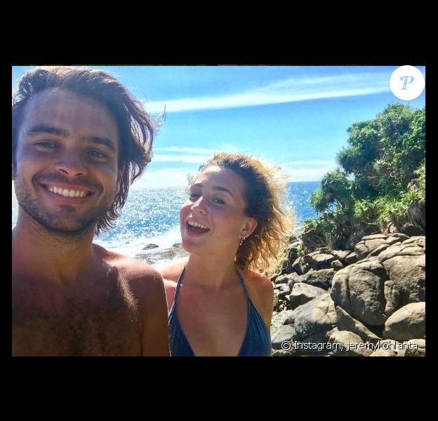 """Jérémy et Candice de """"Koh-Lanta, L'île au trésor au Sri Lanta, 2017"""