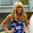 Miley Cyrus, dans le rôle d'Hannah Montana
