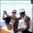 Mariah Carey et son mari Nick Cannon à Saint Barth ne boivent pas de l'eau !