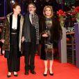 Catherine Frot, Martin Provost et Catherine Deneuve à la première de 'Sage Femme' lors du 67e Festival international du Film Berlinale à Berlin en Allemagne, le 14 février 2017