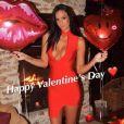 La jolie Jade Foret a partagé des photos de sa Saint Valentin avec son mari Arnaud Lagardère. Instagram, février 2017.
