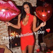 Jade Foret : Sexy en robe décolletée pour la Saint-Valentin avec son mari
