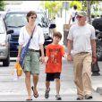 Richard Gere à Saint-Barth' avec sa femme Carey et leur fils Homer James
