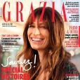 Caroline de Maigret figure en couverture du magazine Grazia. Semaine du 17 au 23 février 2017.