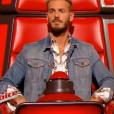 """Le coach M. Pokora dans """"The Voice 6"""", le 18 février 2017 sur TF1."""