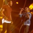 """Fonetyk et Dama dans """"The Voice 6"""", le 18 février 2017 sur TF1."""
