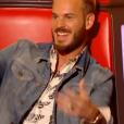 """M. Pokora dans """"The Voice 6"""", le 18 février 2017 sur TF1."""