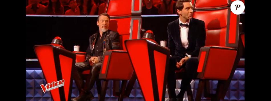 """Mika dans """"The Voice 6"""", le 18 février 2017 sur TF1."""