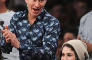 John McEnroe assiste au triomphe des Lakers... mais avec qui d'ailleurs ?