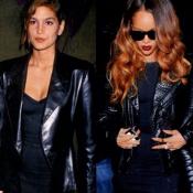 Rihanna copie conforme de Cindy Crawford : birthday girls assorties 20 ans après