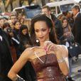 """La sosie de la chanteuse Rihanna au défilé de mode """"Chanel"""", collection prêt-à-porter Printemps-Eté 2017 à Paris, le 4 octobre 2016.© Christophe Aubert via Bestimage"""