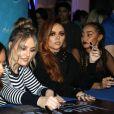 Perrie Edwards, Jesy Nelson, Leigh-Anne Pinnock, Jade Thirlwall - Le groupe Little Mix, nominé au Brit Award 2017 a donné un concert au Mohegan Sun à Uncasville le 17 février 2017.