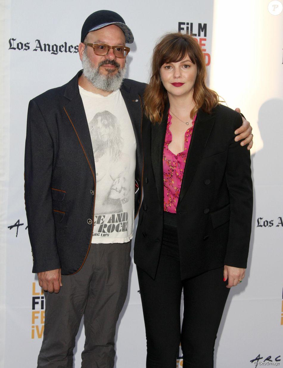 Amber Tamblyn, David Cross à la première de 'Paint It Black' lors du Festival du Film 2016 au théâtre Lacma Bing à Los Angeles, le 3 juin 2016