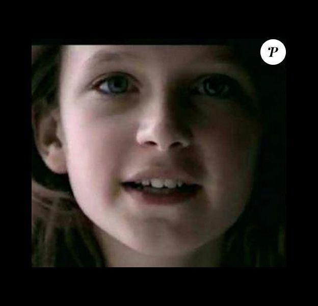 Emilie Delaunay dans la publicité Quézac.