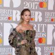"""Rita Ora - Photocall des """"Brit Awards 2017"""" à Londres. Le 22 février 2017"""