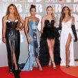 """Little Mix - Photocall des """"Brit Awards 2017"""" à Londres. Le 22 février 2017"""