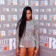"""Naomi Campbell- Photocall des """"Brit Awards 2017"""" à Londres. Le 22 février 2017"""