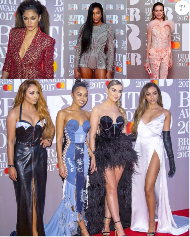 Défilés de bombes aux BRIT Awards 2017.