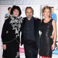 Anny Duperey, Antoine Duléry et Juliette Arnaud à la première du film  De l'autre côté du lit  au cinéma UGC Bercy. 06/01/09