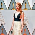 Actress Emma Roberts arrives on the red carpet for the 89th annual Academy Awards at the Dolby Theatre in the Hollywood section of Los Angeles on February 26, 2017. Photo by Kevin Dietsch/UPI26/02/2017 - LOS ANGELES