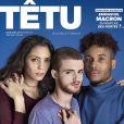 """Couverture du magazine """"Têtu"""", numéro 213 en kiosques le 28 février 2017"""