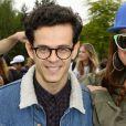 """Michael Gregorio et Laam - Lancement de la campagne """"Vacances d'été 2015"""" du Secours Populaire à Disneyland Paris. Le 16 mai 2015."""