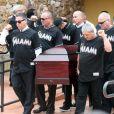 Image des obsèques de José Fernandez, lanceur des Miami Marlins en MLB qui a trouvé la mort à 24 ans le 25 septembre 2016.