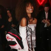 Fashion Week : La chérie de Vincent Cassel, Tina Kunakey, au top à Paris