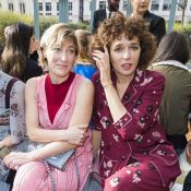 Fashion Week : Valeria Bruni-Tedeschi et Kristin Scott Thomas, élégantes