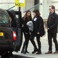 Exclusif - Changement de look radical pour Max Parker le mari de Isabella Cruise (fille adoptive de Tom Cruise et Nicole Kidman) à Londres le 22 janvier 2017.