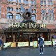Exclusif - Max Parker et Isabella Cruise (fille adoptive de Tom Cruise et Nicole Kidman) à Londres le 22 janvier 2017, sont allés voir la représentation de Harry potter.