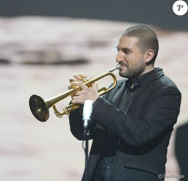 Ibrahim Maalouf (Album de musiques du monde) - 29ème édition des Victoires de la Musique à Paris. Le 14 février 2014