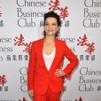 Juliette Binoche- Le Chinese Business Club célèbre la journée des droits de la femme lors d'un déjeuner chez Potel & Chabot à Paris le 8 mars 2017. © Guirec Coadic / Bestimage