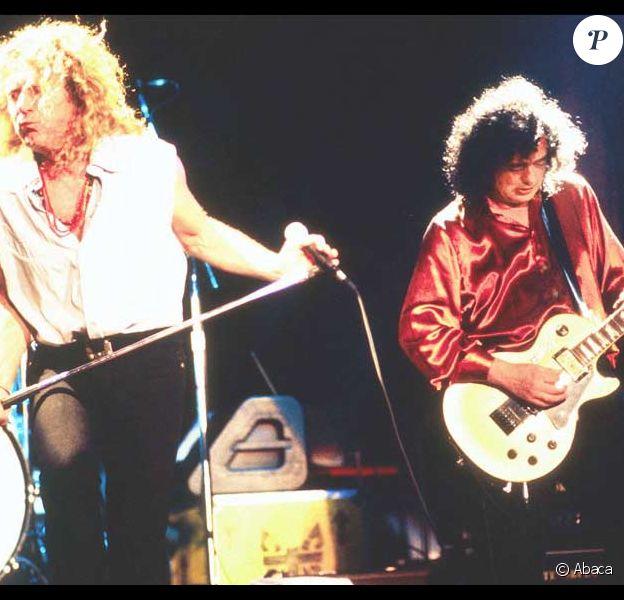 Robert Plant et Jimmy Page, l'âme de Led Zeppelin