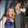 """Gillian Anderson et David Duchovny à la première du film """"The X-Files: I Want to Believe"""", le 23 juillet 2008 à Los Angeles."""