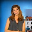 La jolie Chloé Nabédian, nouveau visage de la météo de France 2, le 29 août 2016.
