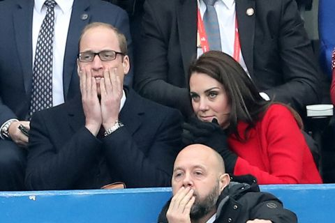 Kate Middleton et William à Paris : Tétanisés par le suspense...