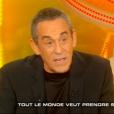 """Thierry Ardisson dans """"Salut les Terriens"""" (C8), le 18 mars 2017."""