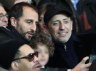 PSG-Lyon : Gad Elmaleh, tonton comblé au côté d'Arié et de son fils Isaac