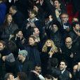 People assistant au match de Ligue 1 entre le Psg et Lyon à Paris le 19 mars 2017. Le Psg à remporté le match sur le score de 2-1. © Cyril Moreau/Bestimage